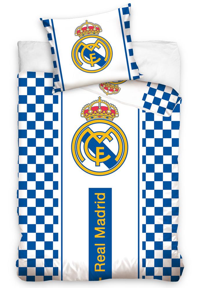 Fotbalové povlečení Real Madrid Check
