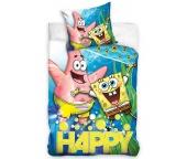 Dětské povlečení Sponge Bob Happy