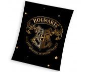 Dětská deka Harry Potter Zlatý Erb Bradavic 150x200 cm