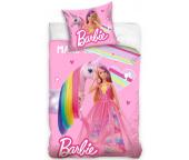 Dětské povlečení Barbie a Duhový Jednorožec