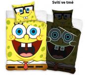 Svítící povlečení Sponge Bob