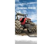 Dětská osuška Traktor Extreme Power