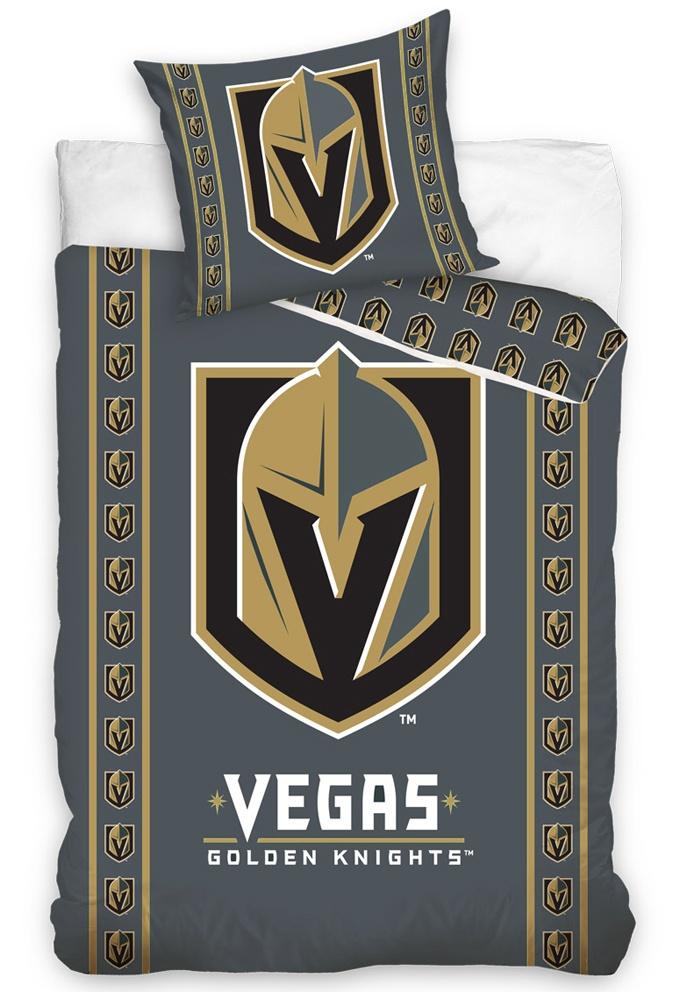 Hokejové povlečení NHL Vegas Golden Knights Stripes