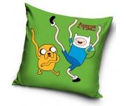 Polštářek Adventure Time - Zelený