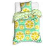 Bavlněné povlečení Citrony