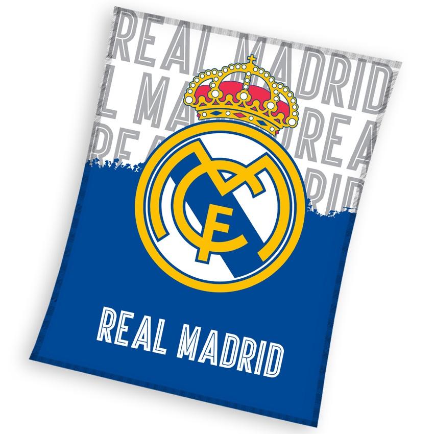 Deka Real Madrid 130x160 cm