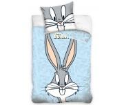 Povlečení do postýlky Králíček Bugs Bunny Modré