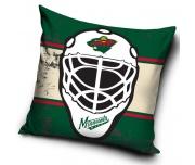 Polštářek NHL Minnesota Wild Maska