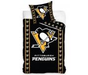 Hokejové povlečení NHL Pittsburgh Penguins Stripes
