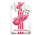 Hokejové povlečení NHL Detroit Red Wings White