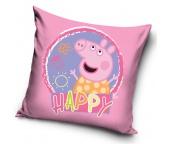 Dětský polštářek Prasátko Peppa Sweet Happy