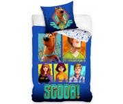 Dětské povlečení Scooby Doo Modrá Pětka