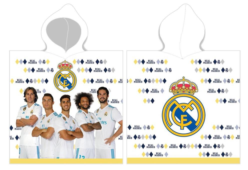 Dětské pončo Real Madrid Hráči