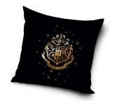Dětský polštářek Harry Potter Erb Bradavic Gold