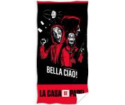 Froté osuška Papírový dům Bella Ciao