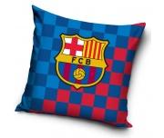 Fotbalový polštářek FC Barcelona Chessboard
