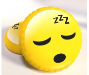3D Polštářek Smajlík Spánek
