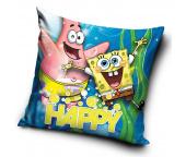 Dětský polštářek Sponge Bob a Patrik Radovánky