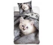 Bavlněné povlečení Koťátko v pelíšku