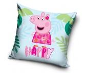 Dětský polštářek Prasátko Peppa Happy