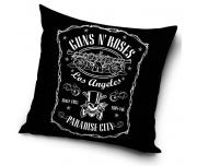 Dekorační polštář Guns N´ Roses Paradise City 45x45 cm