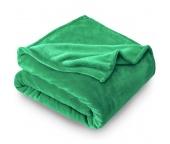 Deka mikroplyš 150x200 cm Zelená