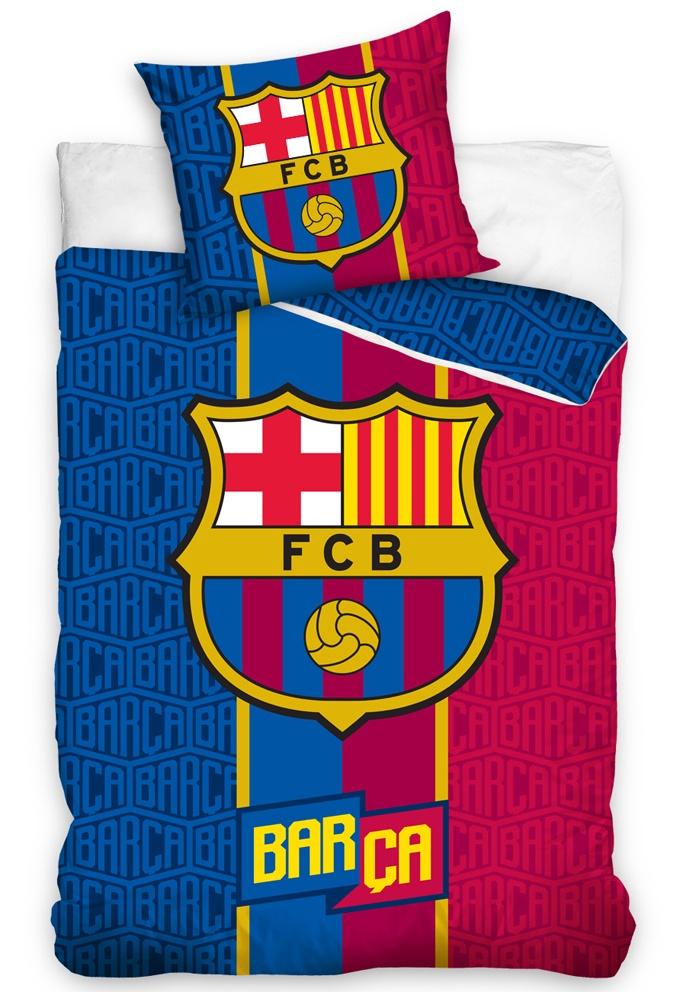 Fotbalové povlečení FC Barcelona Rayas