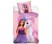 Dětské povlečení Barbie a Kouzelný Jednorožec