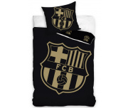 Fotbalové povlečení FC Barcelona Gradient Black