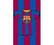 Dětský ručník FC Barcelona Dres - 30x50 cm
