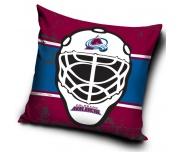 Polštářek NHL Colorado Avalanche Maska