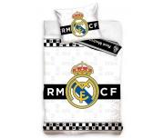 Fotbalové povlečení Real Madrid Thin Chessboard