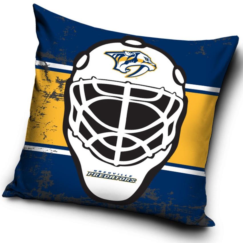 Polštářek NHL Nashville Predators Maska