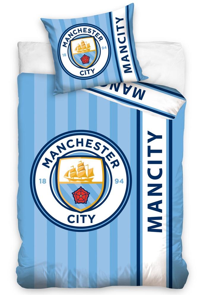 Povlečení Manchester City Stripes