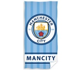 Fotbalová osuška Manchester City Stripes