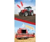 Dětská osuška Traktor a Kombajn