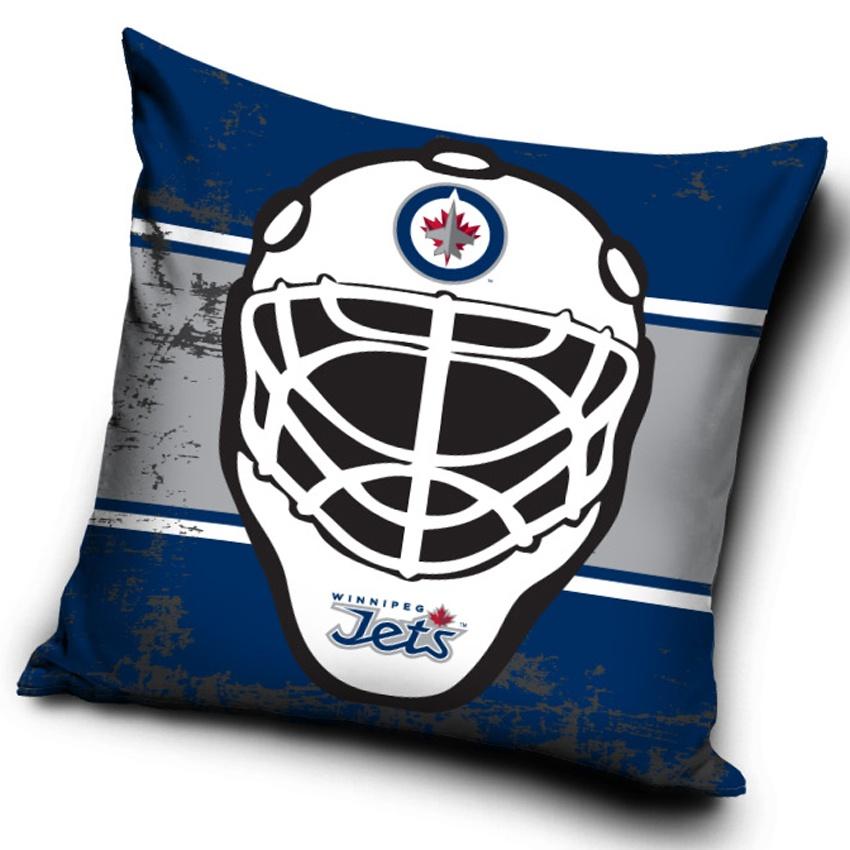 Polštářek NHL Winnipeg Jets Maska