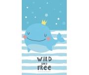 Dětský ručníček Princezna Velryba
