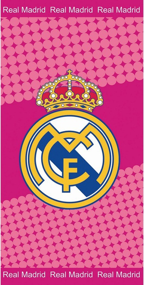 Osuška Real Madrid Růžová
