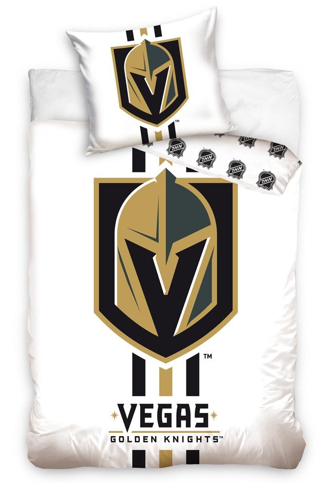 Hokejové povlečení NHL Vegas Golden Knights White