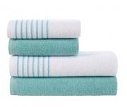Sada ručníků a osušek Davos Tyrkysová