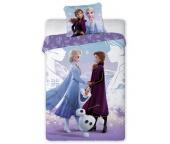 Dětské povlečení Ledové Království Anna Elsa a Olaf