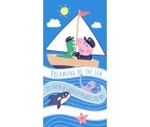Dětská osuška Prasátko Peppa George Námořník