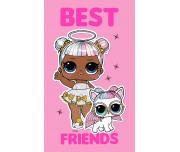 Dětský ručník L.O.L. Best Friends 30x50 cm