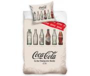 Bavlněné povlečení Coca Cola Retro