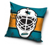 Polštářek NHL San Jose Sharks Maska