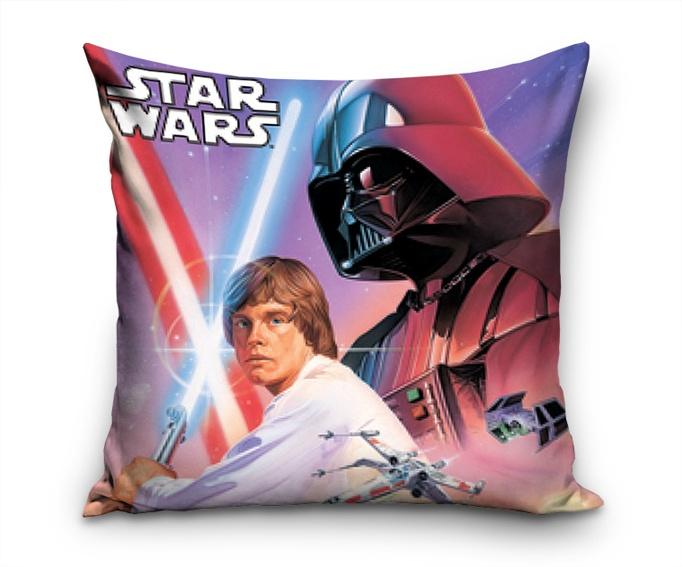 Polštářek Star Wars Luke a Darth Vader
