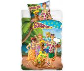 Dětské povlečení Scooby Doo Dovolená na Havaji