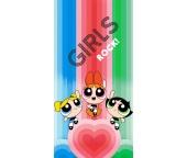 Dětská osuška Powerpuff Girls Rock