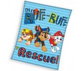 Dětská deka Paw Patrol Záchranáři 110x140 cm